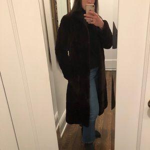 Jackets & Blazers - Brown Fur Coat